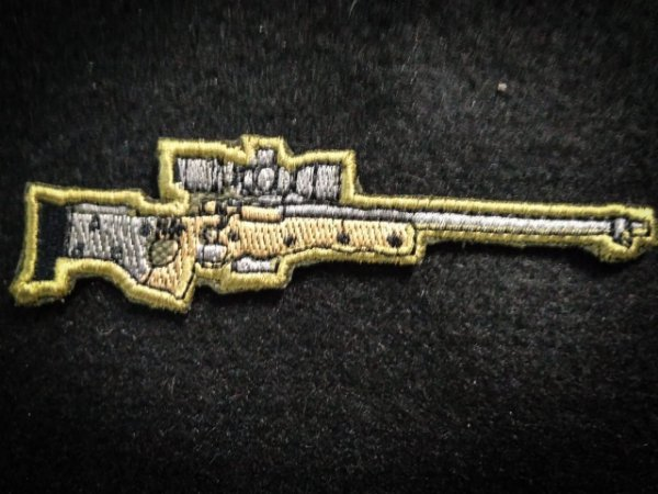 L96 SNIPER PATCH BORDADO