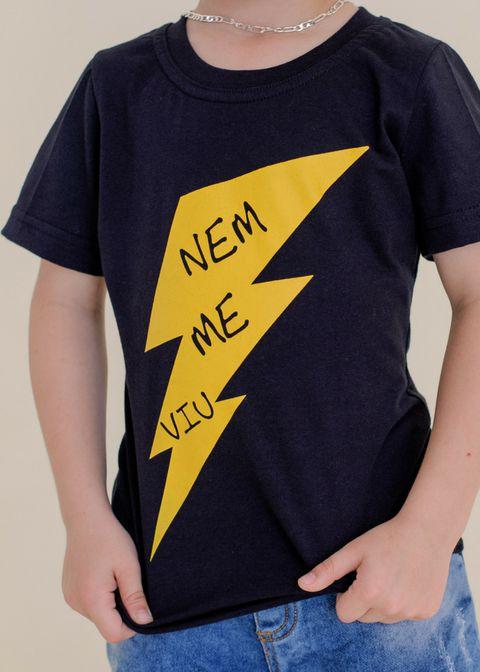 T-Shirt Nem me viu