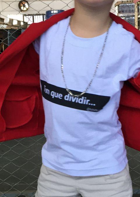 T-Shirt tem que dividir