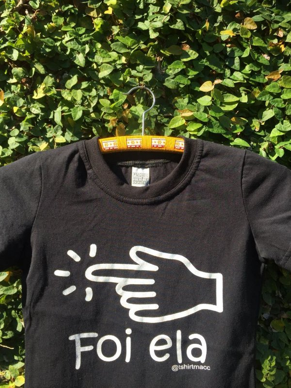 T-shirt Foi ela