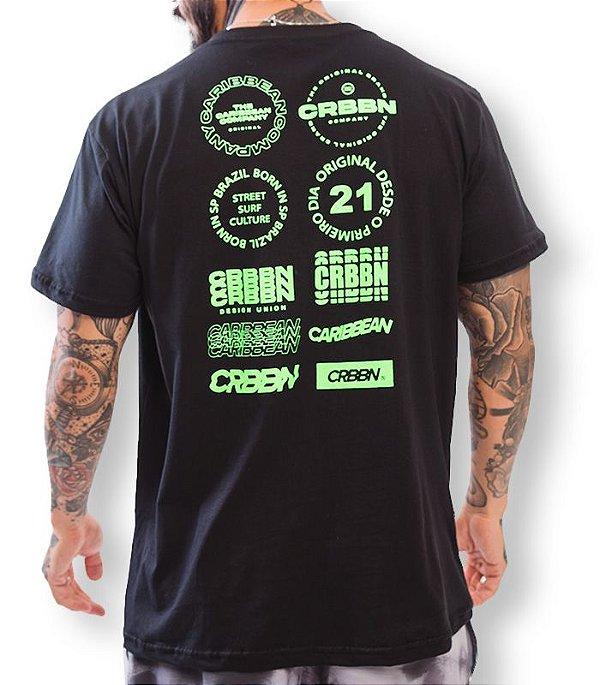 T-shirt Green Fluor