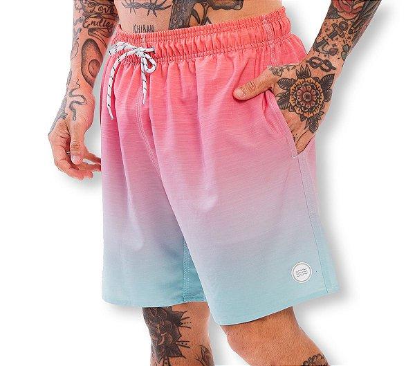 Shorts Elastano Degradê