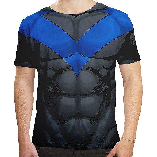 Camiseta Masculina Asa Noturna - Batman Series