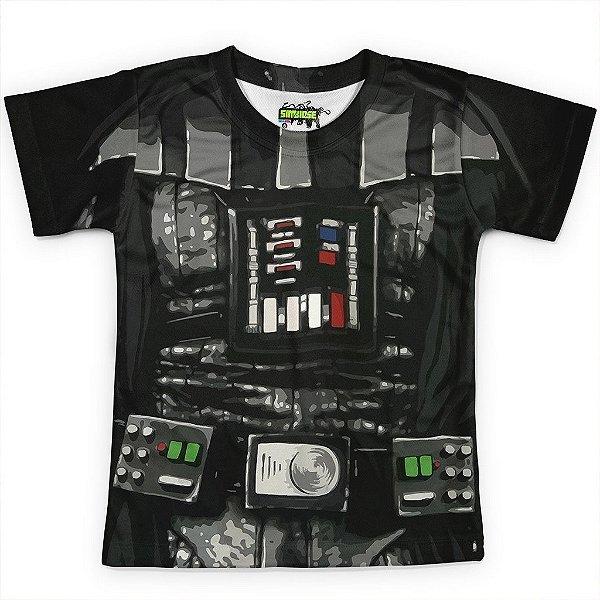 Camiseta Infantil Darth Vader Star Wars Traje
