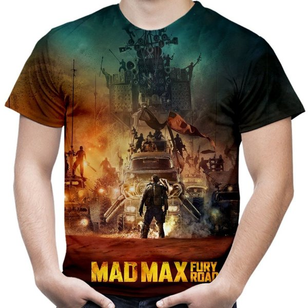 Camiseta Masculina Mad Max Estampa Total Md02