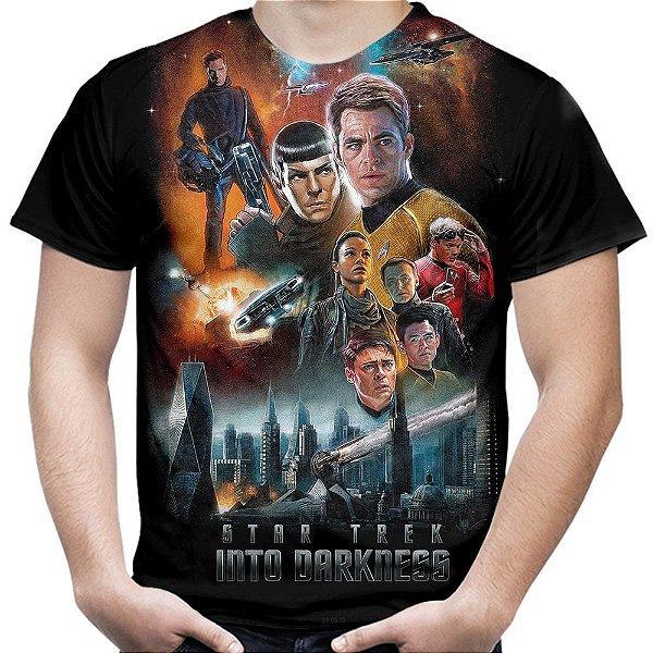 Camiseta Masculina Star Trek Estampa Total Md03