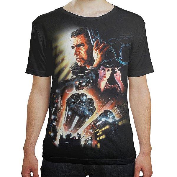 Camiseta Masculina Blade Runner Caçador De Androides Md03