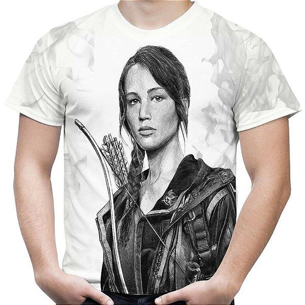 Camiseta Masculina Jogos Vorazes Estampa Total MD05