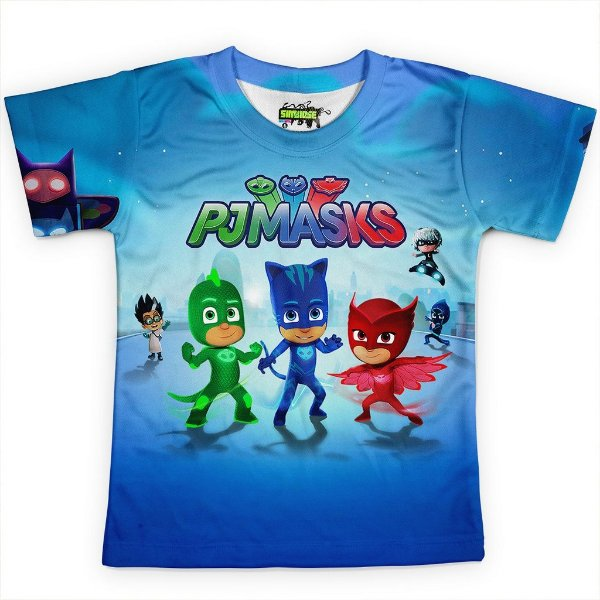 Camiseta Infantil PJ Masks Md01