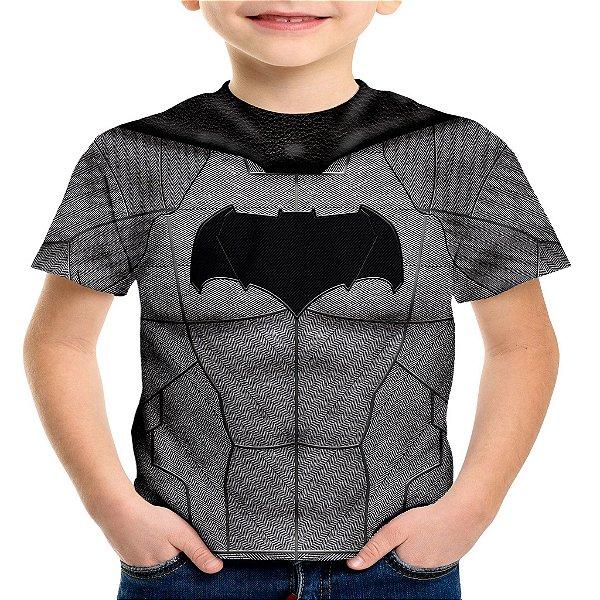 Camiseta Infantil Batman Traje Md01