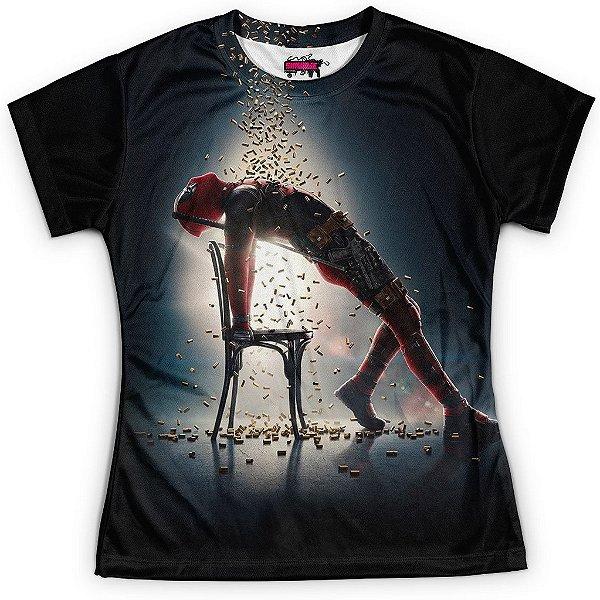 Camiseta Baby Look Filme Deadpool Md05