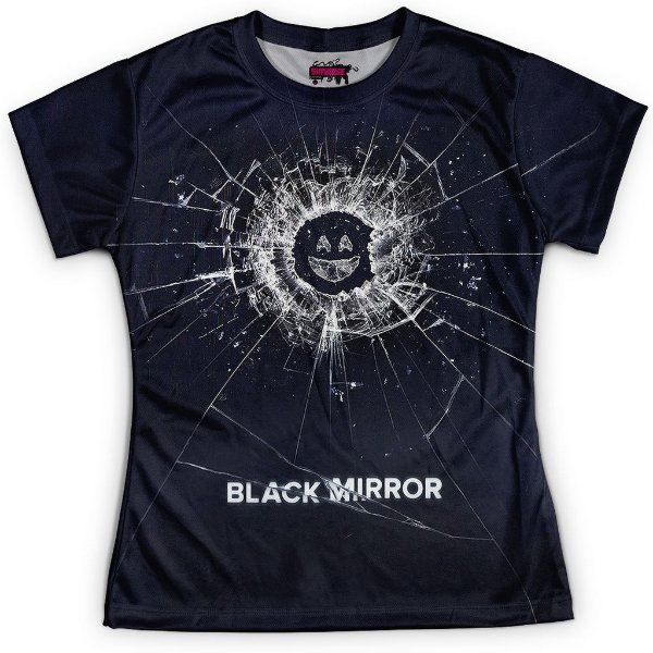 Baby look Feminina Black Mirror