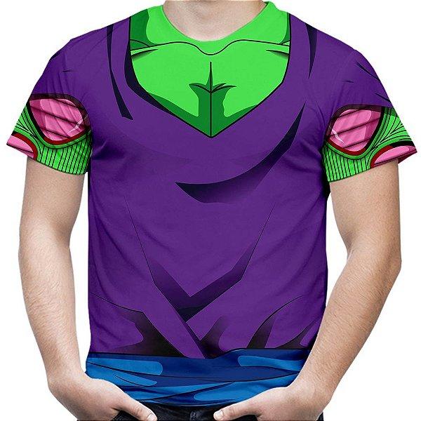 Camiseta Masculina Traje Piccolo Estampa Total