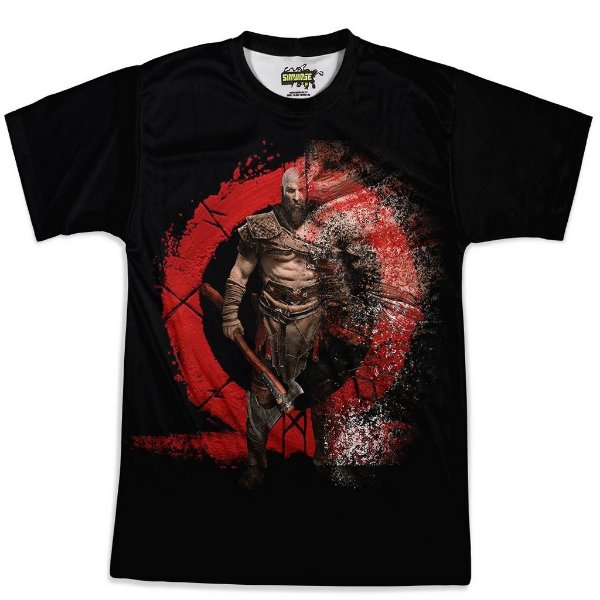 Camiseta Masculina God of War Md02