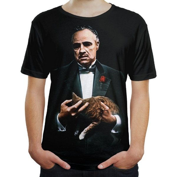 Camiseta Masculina O Poderoso Chefão The Godfather