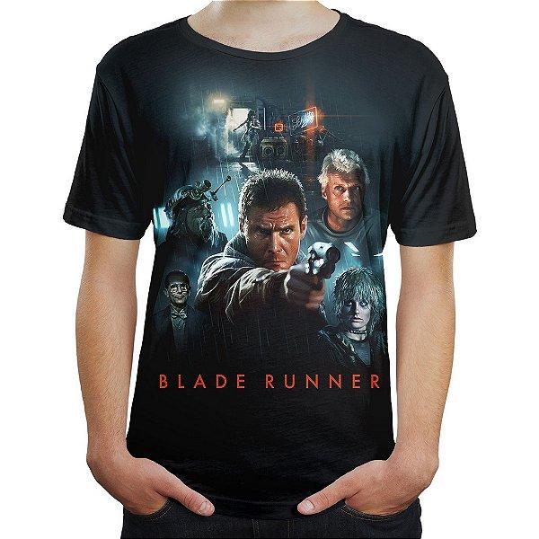 Camiseta Masculina Blade Runner Caçador De Androides Md02
