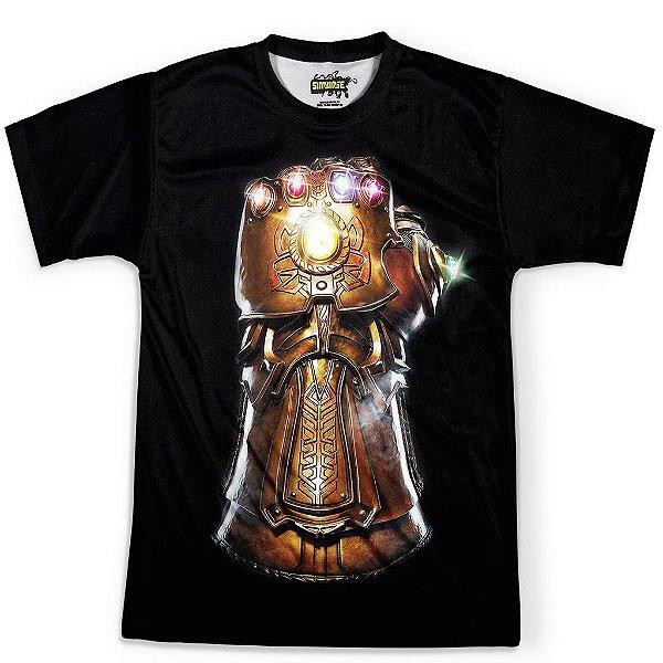 Camiseta Masculina Manopla Do Infinito Thanos Joias Md01