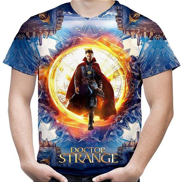Camiseta Masculina Doutor Estranho Estampa Total MD05