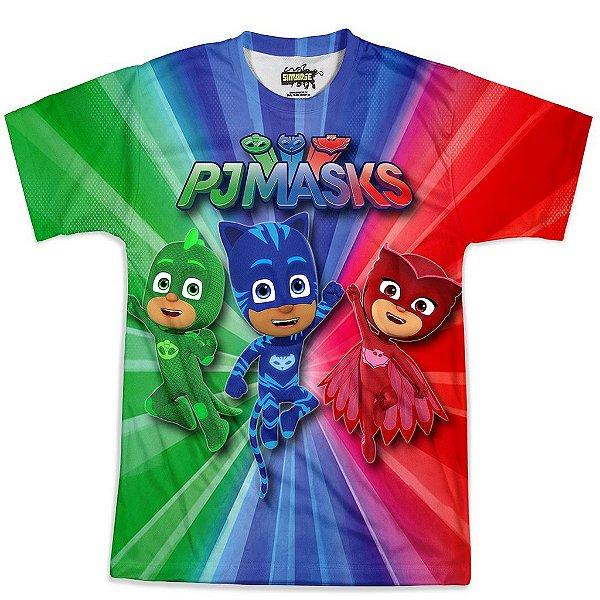 Camiseta Masculina PJ Masks Md02
