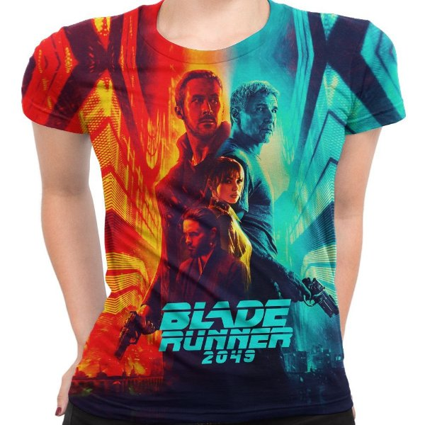 Camiseta Baby Look Feminina Blade Runner 2049 Md1