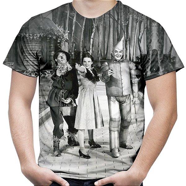 Camiseta Masculina O Mágico de Oz Estampa Total