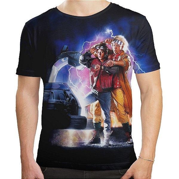 Camiseta Masculina De Volta Para O Futuro Md02