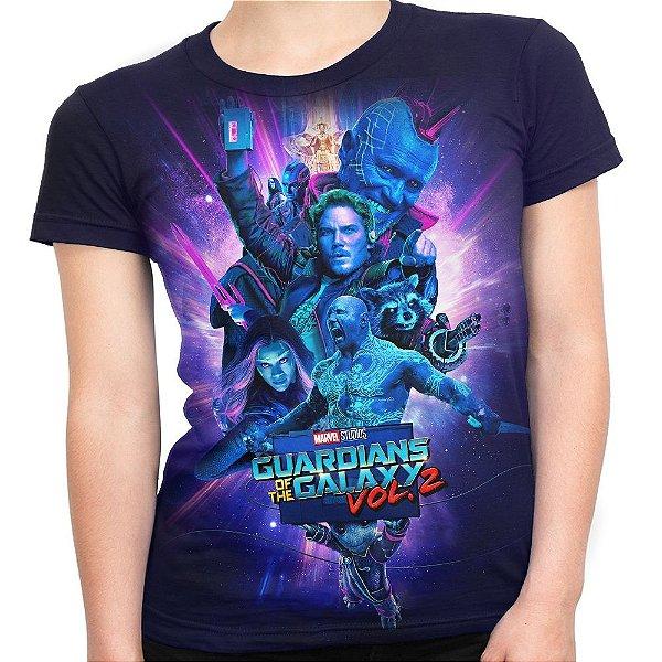 Camiseta Baby Look Feminina Guardiões Da Galáxia Vol2 Md5