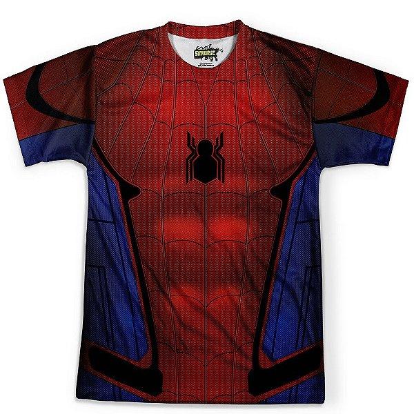 Camiseta Masculina Homem Aranha Traje Spider-Man Md06