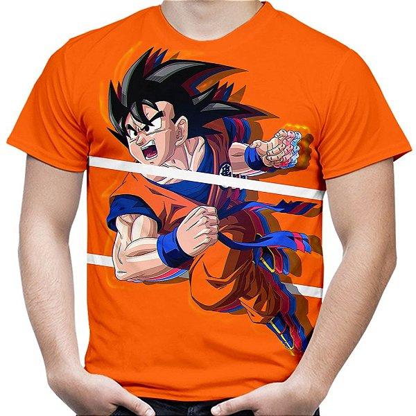 Camiseta Masculina Goku Dragon Ball Super MD06