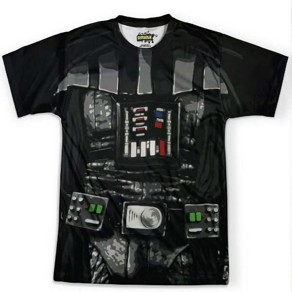 Camiseta Masculina Darth Vader Traje