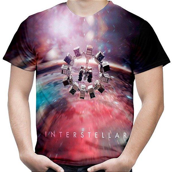 Camiseta Masculina Interestelar Estampa Total Md02