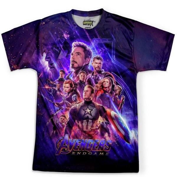 Camiseta Masculina Vingadores Ultimato Endgame