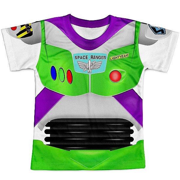Camiseta Masculina Toy Story Buzz Lightyear Traje