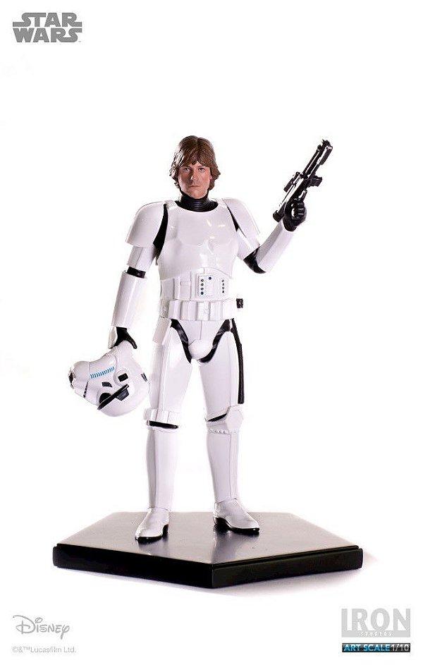 Luke Skywalker Stormtrooper Disguise - Star Wars Serie 3 - 1/10 Art Scale
