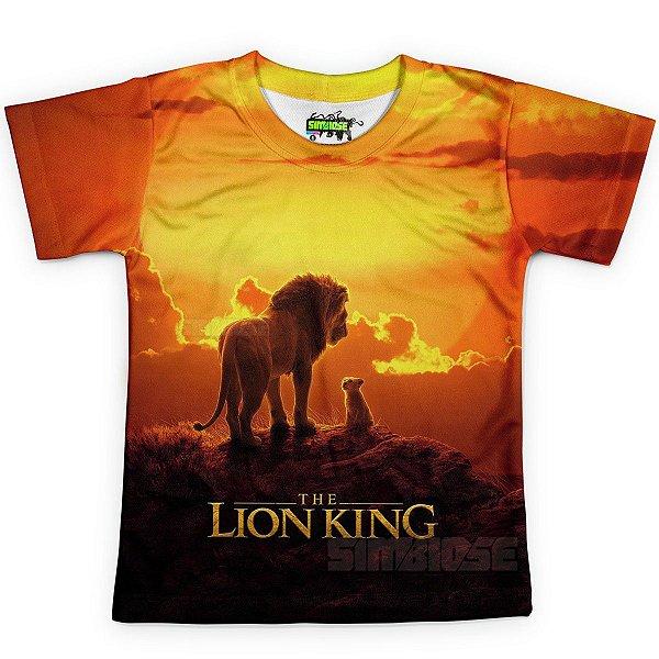 Camiseta Infantil - Rei Leão