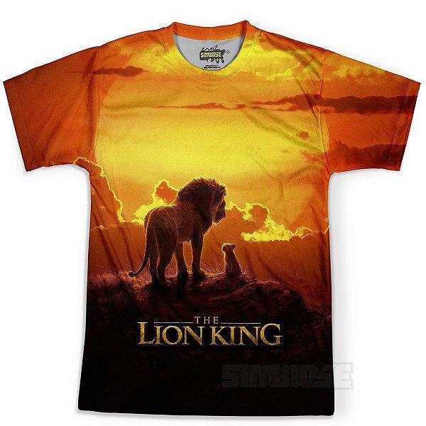 Camiseta Masculina - Rei Leão