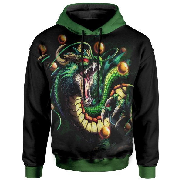 Moletom com Capuz Dragon Ball ShenLong