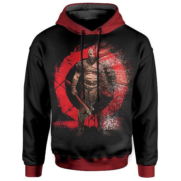 Moletom com Capuz Kratos God of War Md02