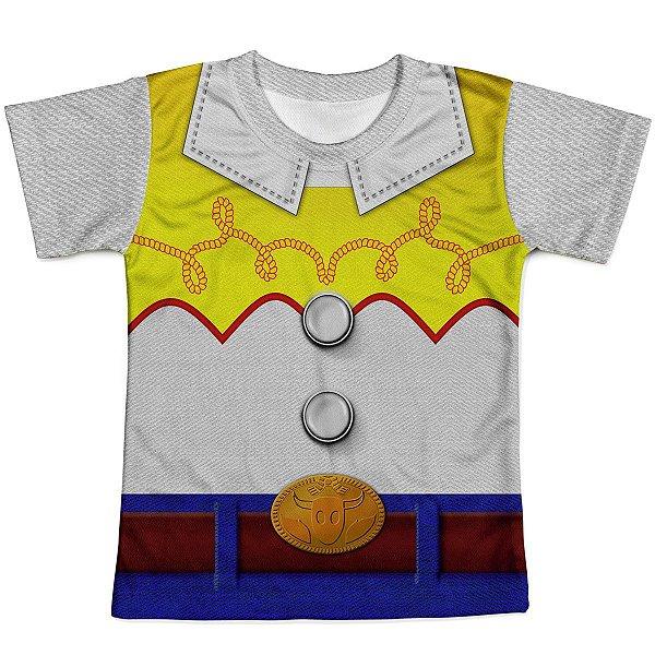 Camiseta Infantil Toy Story Jessie Traje