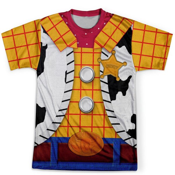 Camiseta Masculina Toy Story Woody Traje