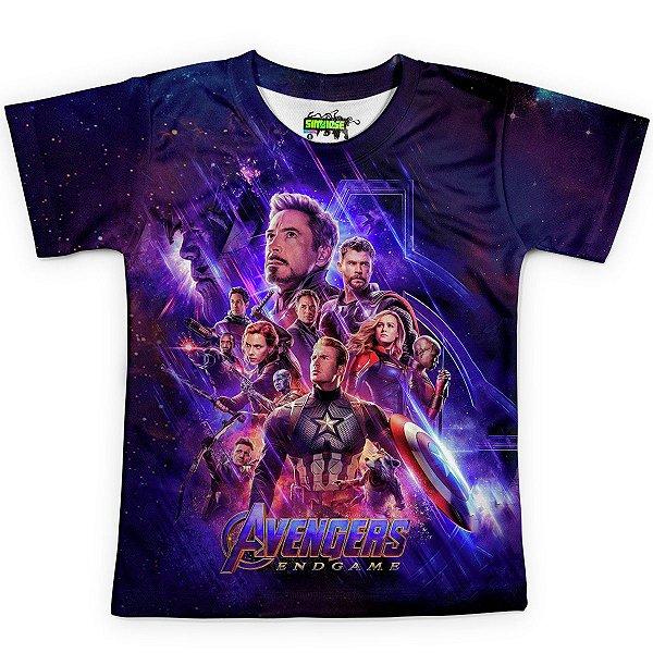 Camiseta Infantil Vingadores Ultimato Endgame