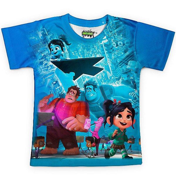 Camiseta Infantil WiFi Ralph Md02