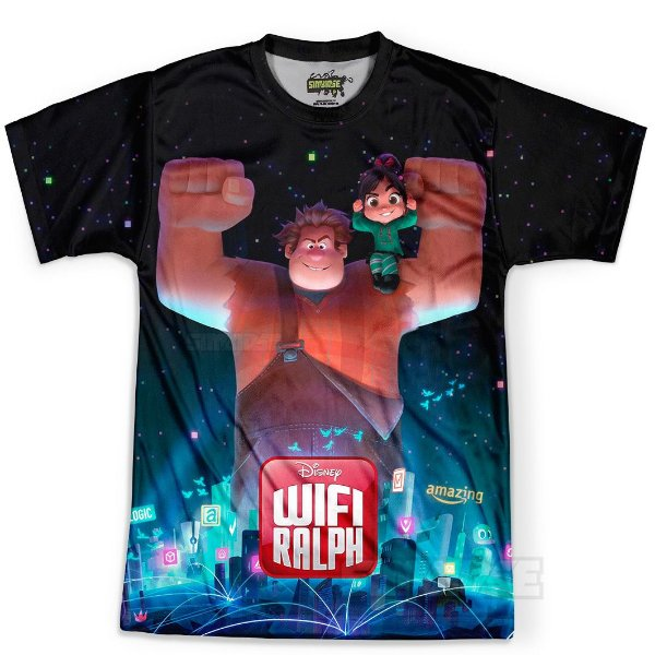 Camiseta Masculina WiFi Ralph Md01