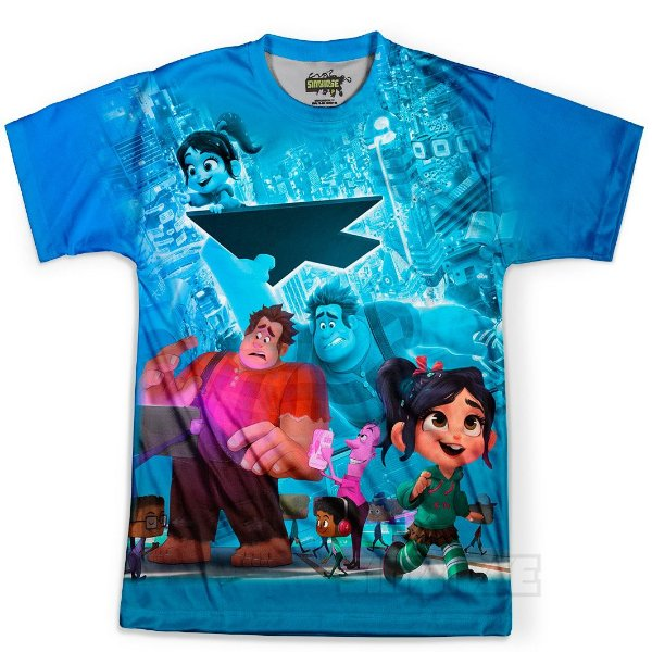Camiseta Masculina WiFi Ralph Md02