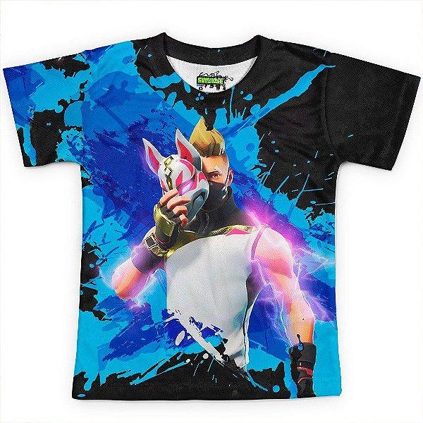 Camiseta Infantil Fortnite Drift