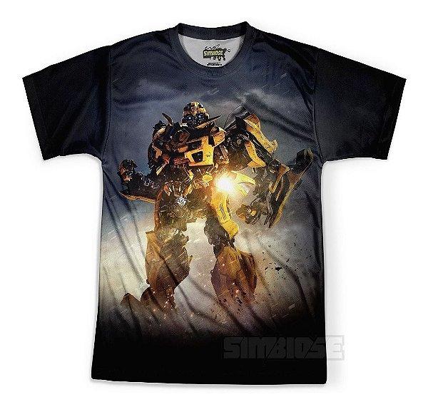 Camiseta Masculina Bumblebee Transformers Md04