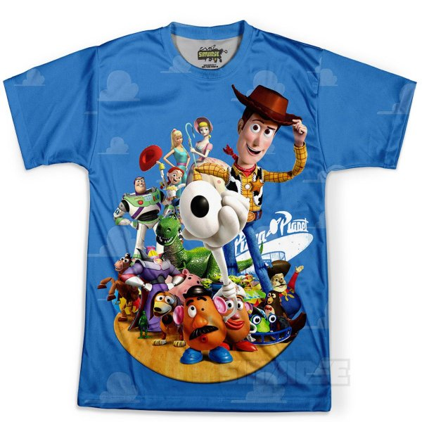 Camiseta Infantil Toy Story Md01