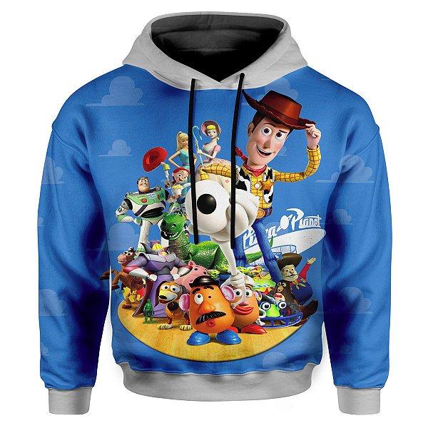 Moletom Infantil Com Capuz Toy Story MD01