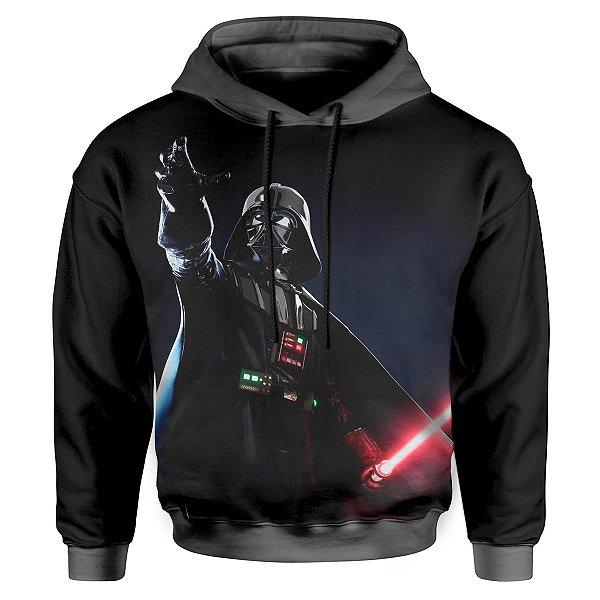 Moletom Infantil Com Capuz Unissex Darth Vader MD02