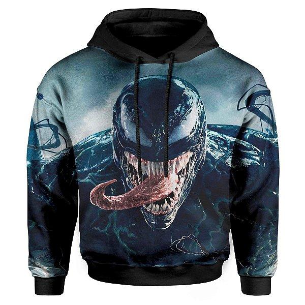 Moletom Infantil Com Capuz Venom MD02